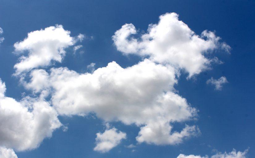 Wolken am Himmel (Symbolbild)